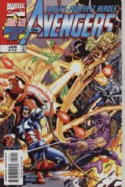 Avengers #12 (1998) Double-Sized Marvel Comics US Import Busiek Perez